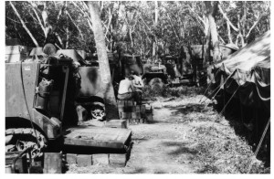 409th. Breaking Camp start of Operation Manhattan