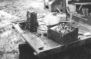 The 3rd Squadron captured some radios during the operation.